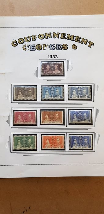 British Commonwealth - Collection in two albums