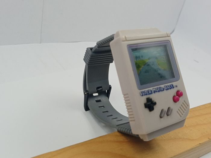 1 Nintendo GAME WATCH BOY - Super Mario Race - Videospil - Uden original æske