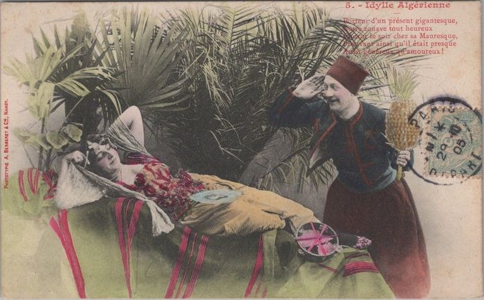 """France - Postcards from the """"BERGERET"""" series - Postcards (Collection of 97) - 1904"""