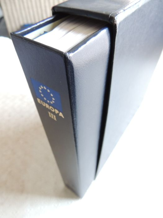 Europa (cept) 1990/1997 - An apparently complete collection + Extras & miscellaneous in a Davo
