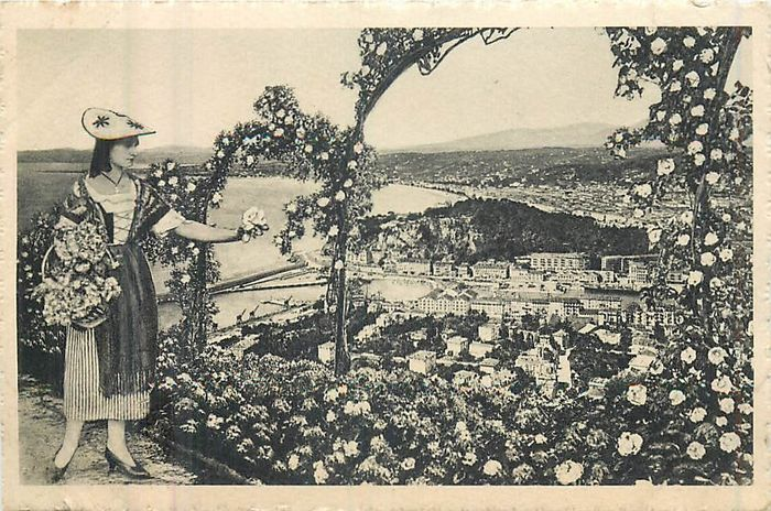 France - Department 06 - Alpes-Maritimes - Postcards (Collection of 80) - 1940-1950