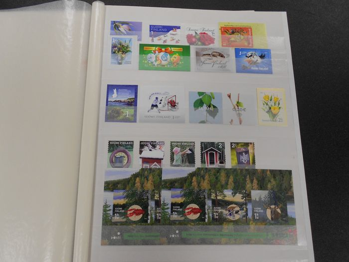 North Korea - Modern collection, both perforated and imperforate