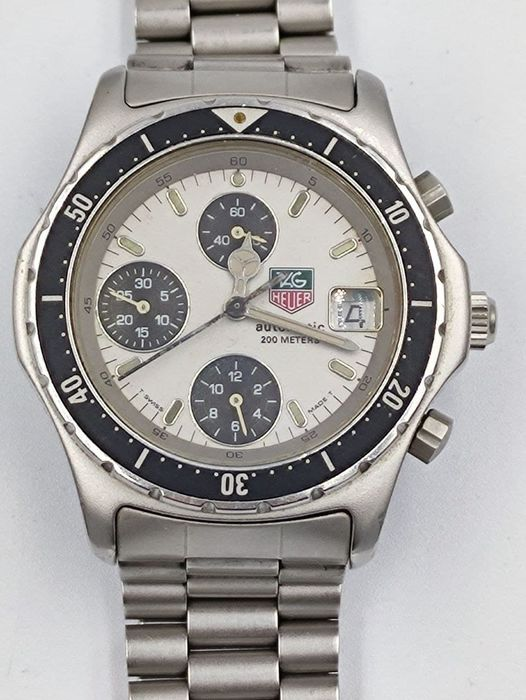 TAG Heuer - 2000 Series Automatic Chronograph - Ref. 870.206 - Heren - 1990-1999