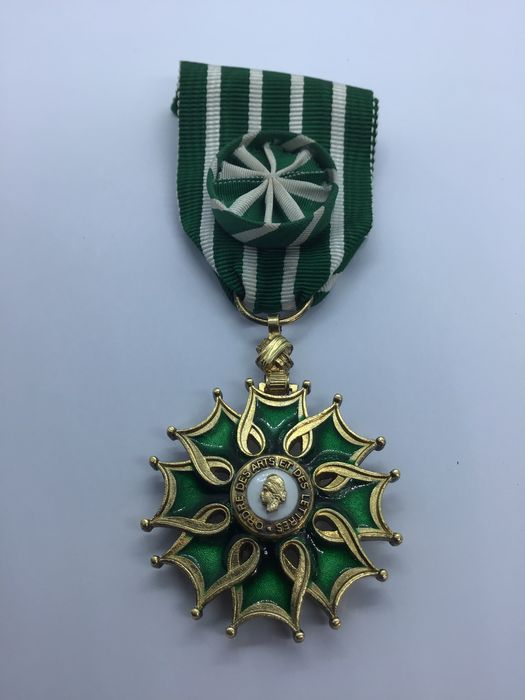 France - Officer's Cross of the Order of Arts and Letters