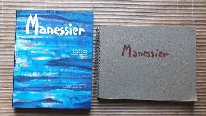 Signé; Alfred Manessier - Lot with 2 books - 1959/2000