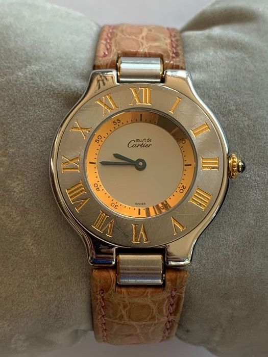 """Cartier - Must 21 - """"NO RESERVE PRICE"""" - 1330 - Mujer - 1980-1989"""