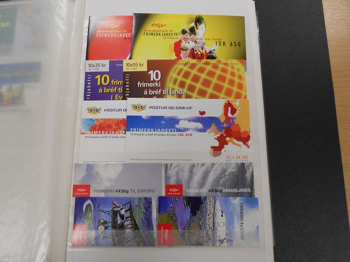 Islanda - Collection of various booklets