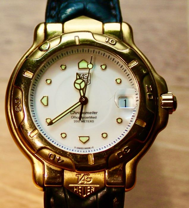 TAG Heuer - Professional Serie 6000 - WH514 - Uomo - 1990-1999