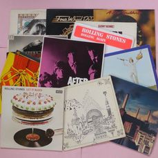 Set of 16 classic rock albums - Múltiples artistas - Rolling Stones (4), Pink Floyd (2), Dr. Hook (3), Ten Years After etc - Múltiples títulos - LP - 1968/1980
