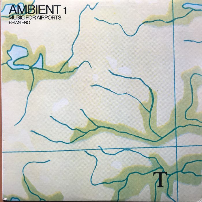 Brian Eno - Ambient 1. Music For Airports - LP Album - 1978