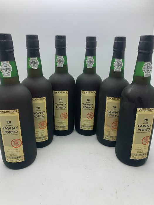 Cockburn's 20 years old Tawny - 6 Botellas (0,75 L)