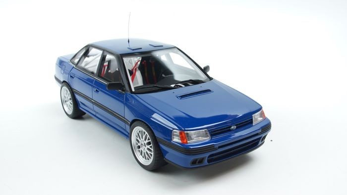 Otto Mobile Asia Edition - 1:18 - Subaru Legacy RS Gr A Blue with bbr rims - Rajoitettu painos 1/300