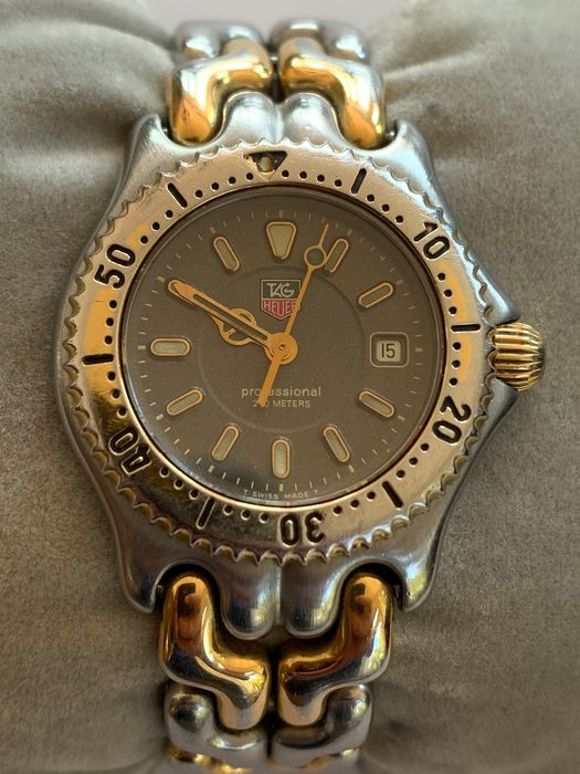 """TAG Heuer - Professional 200 Meters - """"NO RESERVE PRICE"""" - WG1320-2 - Mujer - 1990-1999"""
