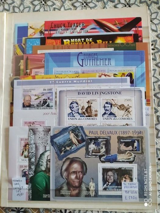 Welt - World thematic collections famous people from all eras