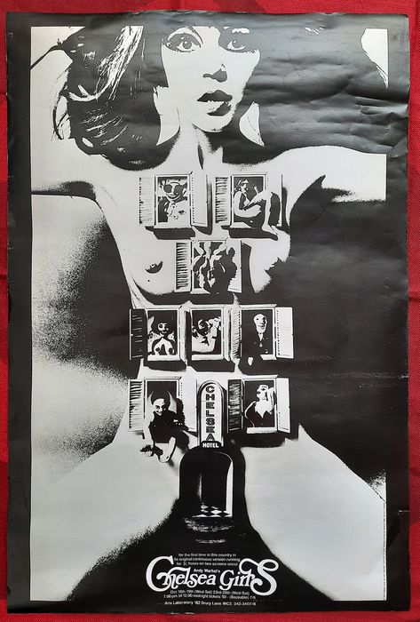 Andy Warhol (after) - Chelsea Girls Poster - 1966