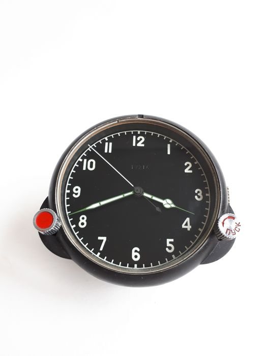 USSR (Russia) - Air Force - Watch, 122 ChS № 17216 Russian USSR Military Air Force Aircraft Cockpit Clock, Watch - 1987