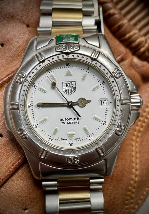 TAG Heuer - 4000 Series Automatic 200m - Ref. 699.706K - Heren - 2000-2010