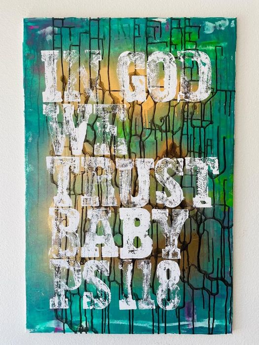 Karl Lagasse (1981) - IN GOD WE TRUST BABY PS 118
