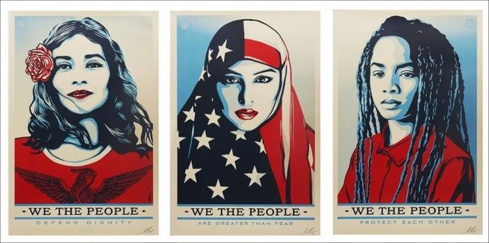 Shepard Fairey (OBEY) - We The People (3 posters)