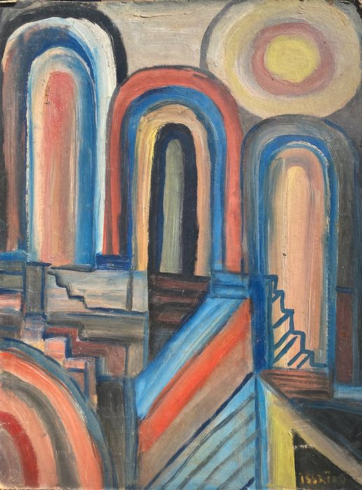 Nicolas Issaiev (1891-1977) - Abstraction