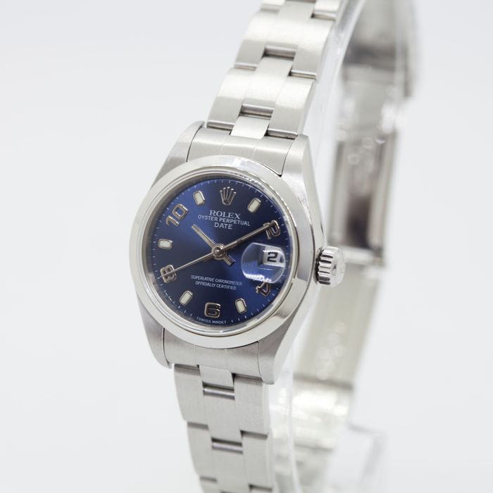 Rolex - Oyster Perpetual Date - 79160 - Donna - 2000-2010
