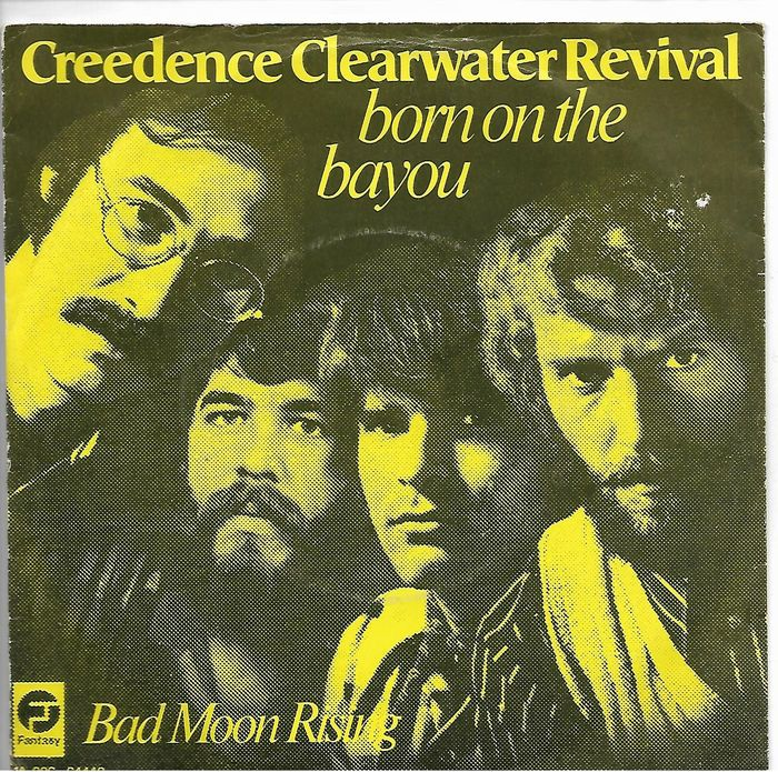 Creedence Clearwater Revival - Multiple titles - 45 rpm Single - 1969/1985