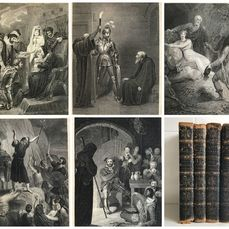 Walter Scott - Collection of Walter Scott's Poetry with Illustrations and Engravings - 1809