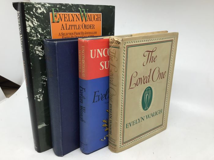 Evelyn Waugh - Unconditional Surrender; Men At Arms; The Loved One; Evelyn Waugh: A little Order - 1948/1977