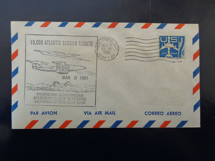 United States of America 1941/2000 - over 145 pieces including covers + FDCs + postcards
