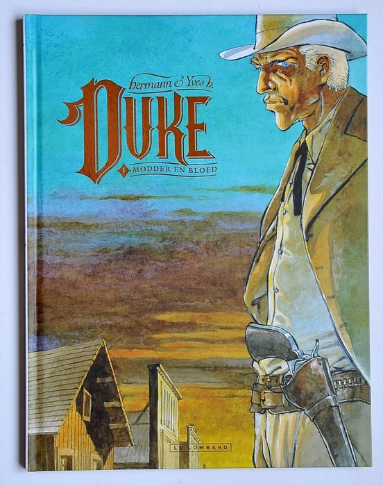 Hermann - Duke 1 (500 ex.) - Modder en bloed - Hardcover - Erstausgabe - (2017)