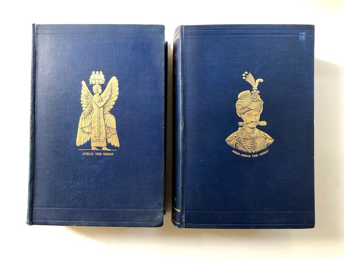Sir Percy Sykes - A History of Persia - 1921