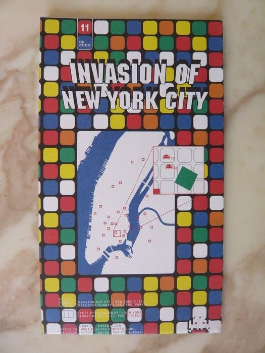 Signed; Space Invader - Invasion of New York City - 2003
