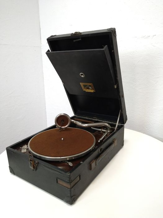 His Masters Voice - Onbekend - 78 tours/min - Grammophone player