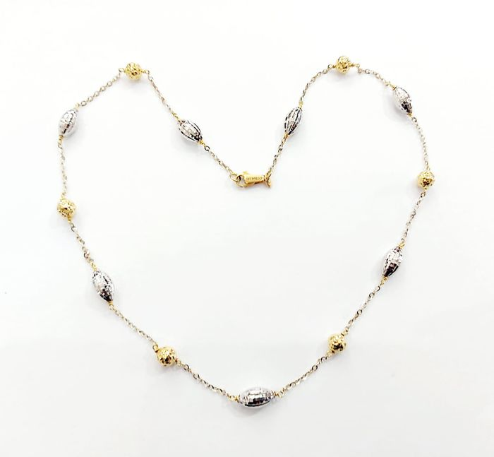 18 carats Or blanc, Or jaune - Collier