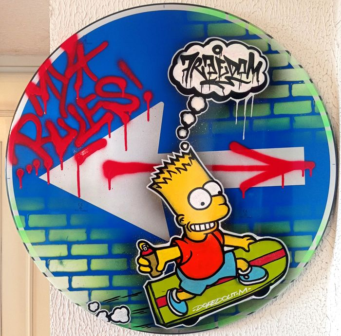 Dopedout M - Bart Simpson - My Rules