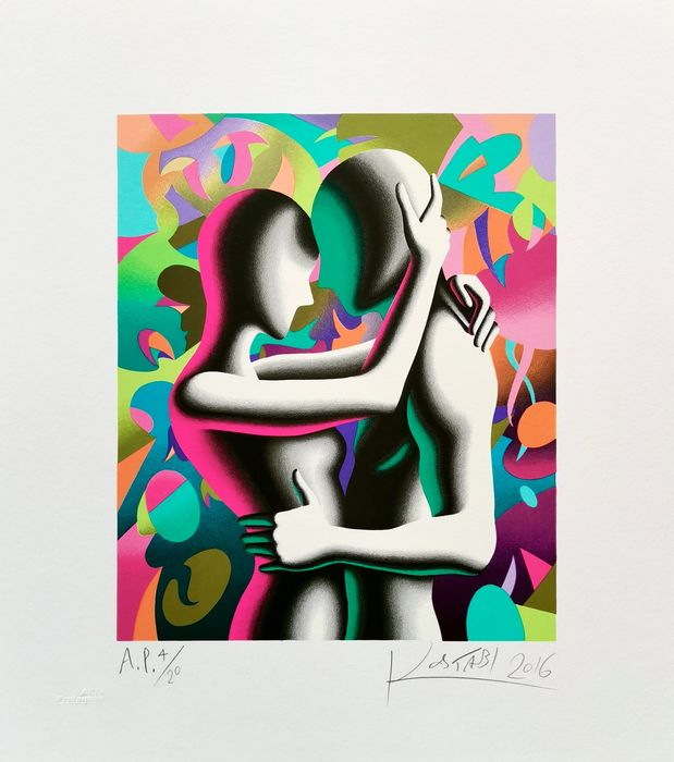 Mark Kostabi (1960) - Out of this world