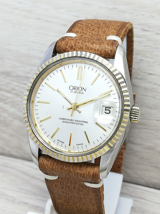 Orion - Unbreakable mainspring - Uomo - 1970-1979