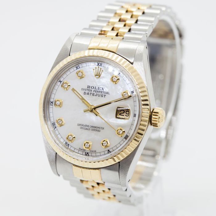 Rolex - Oyster Perpetual DateJust - 16013 - Uomo - 1970-1979