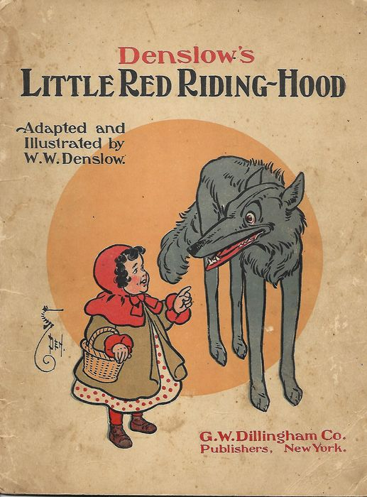 Denslow's Little Red Riding-Hood - Little Red Riding Hood - 1903