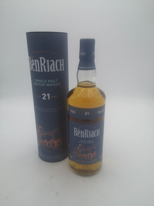Benriach 21 years old - Original bottling - 70 cl