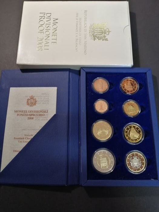 San Marino. Proof Set 2008