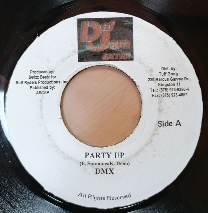 DMX - Party Up/ What's My Name? - 45-toerenplaat (Single) - 2000