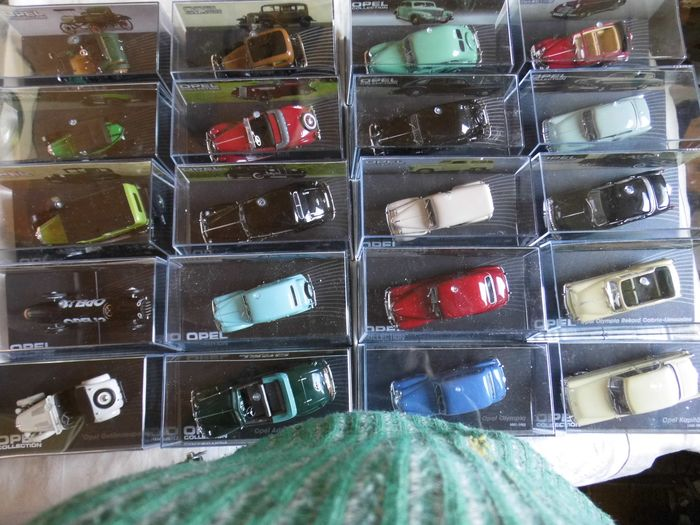 Opel Collection - 20 Models - 1899-1958 - 1:43 - De Agostini