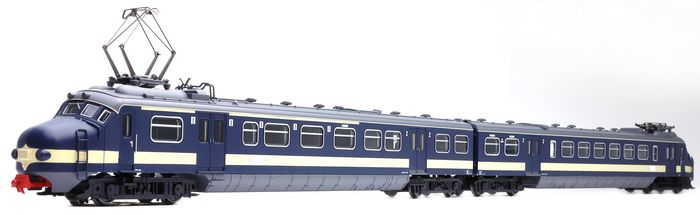 Piko H0 - 57371 - Train unit - Two-piece train set Mat '57 Benelux Hondekop With multiprotocol decoder - NS