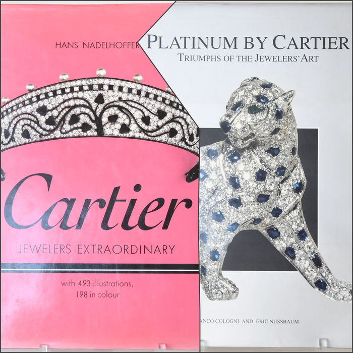 Hans Nadelhoffer, a.o. - Cartier Jewelers Extraordinary, Platinum by Cartier / Triumphs of the Jeweler's Art - 1984/1996