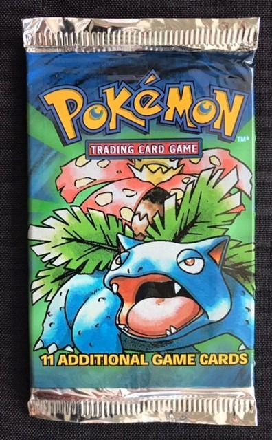 Wizards of The Coast - Pokémon - Booster Pack Pokémon Trading Card Game Base Set 11 Additional  Game Cards Factory Sealed Booster Pack (ENG.) - 1999