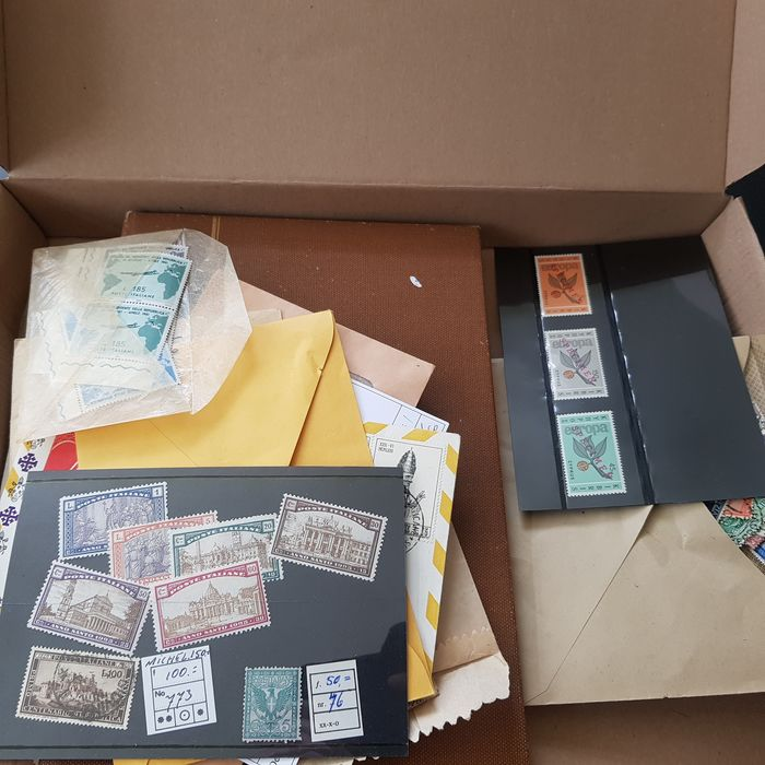 Europe 1880/1970 - Italy and some various in a sort-out box
