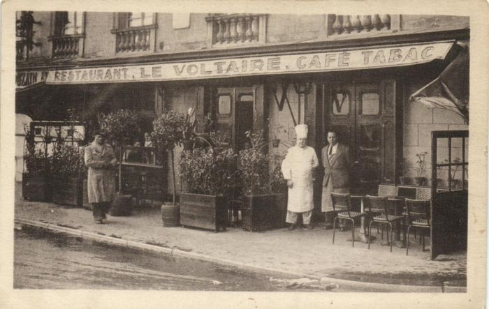 France - Paris - Beautiful series of maps, with shops, small streets, etc. - Postcards (Collection of 53) - 1900-1940
