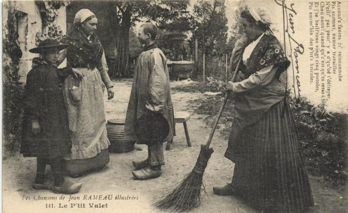 France - Rural life - The life in the countryside where farm life, entertainment and traditional costume - Postcards (Collection of 125) - 1900-1930