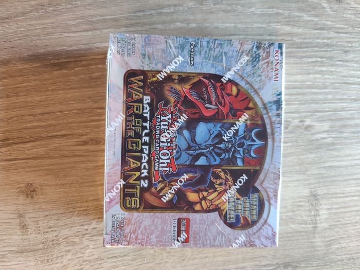 Konami - Booster Box Yu-gi-oh Battle pack 2 - War of the giants 1st edition - 2013